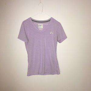 Adidas brand ladies purple tee